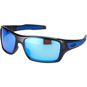 Oakley Turbine Sunglasses, black ink/sapphire iridium